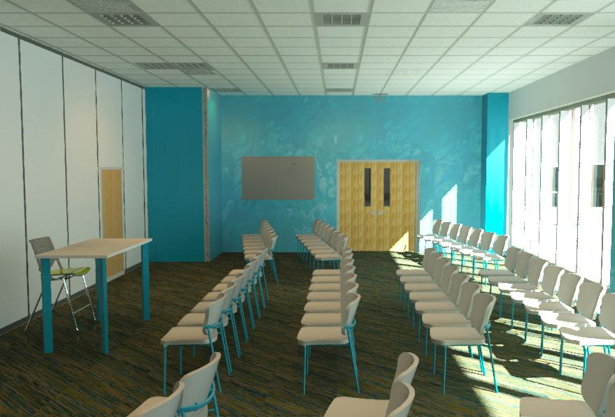 1st Floor Lecture Hall - Advanced Manufacturing Center - Bishop State Community College - Bishop State Foundation - Mobile AL