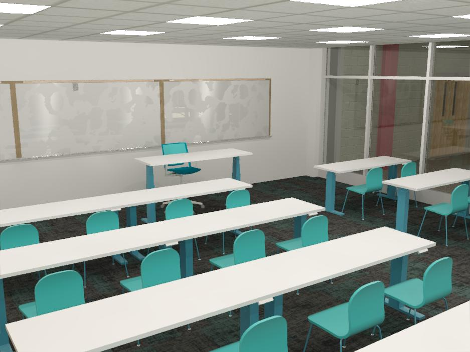 Theory Classroom - Advanced Manufacturing Center - Bishop State Community College - Bishop State Foundation - Mobile AL