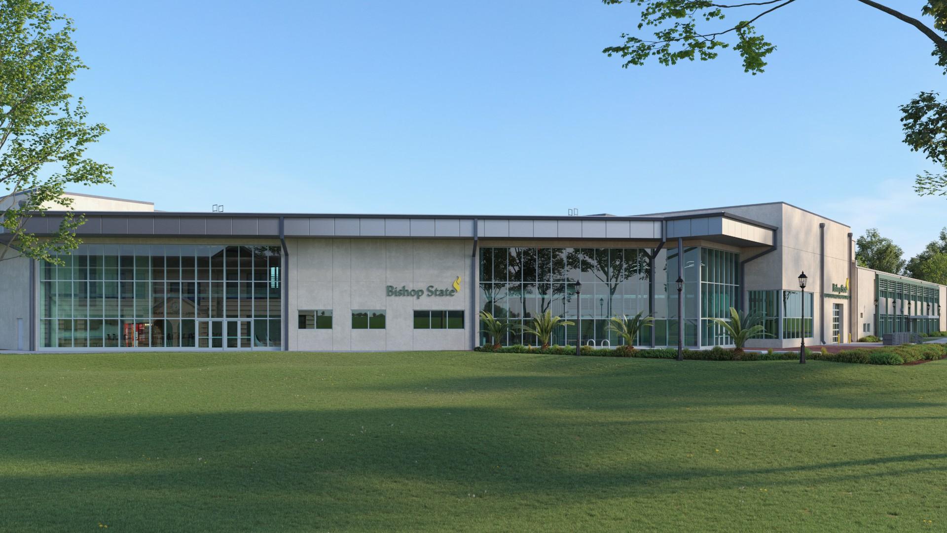 Advanced Manufacturing Center Building - Bishop State Community College - Bishop State Foundation - Mobile AL