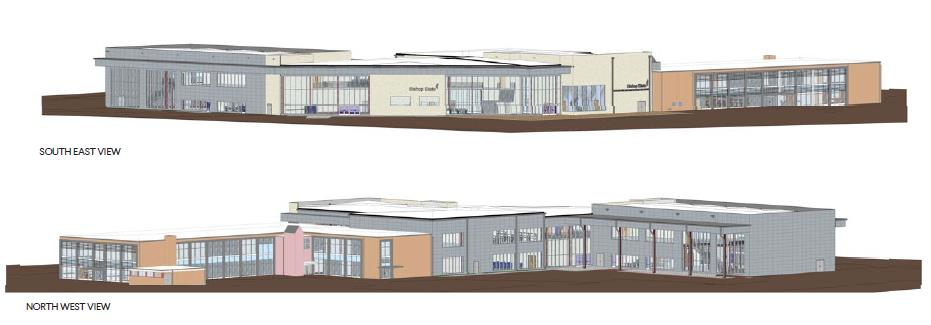 Blueprint of Advanced Manufacturing Center - Bishop State Community College - Bishop State Foundation - Mobile AL