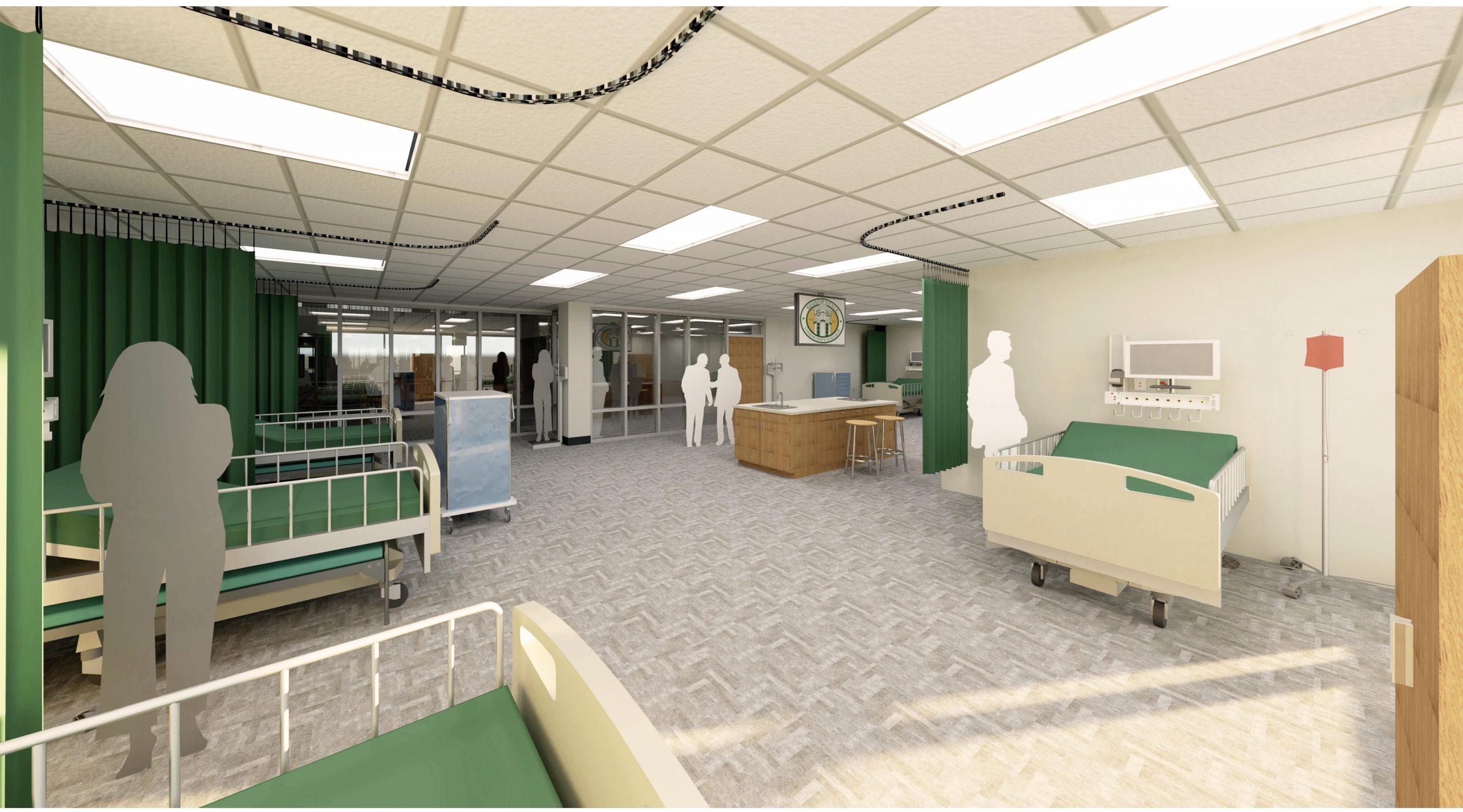 Health Sciences Building Nursing Lab- Bishop State Community College - Bishop State Foundation - Mobile AL