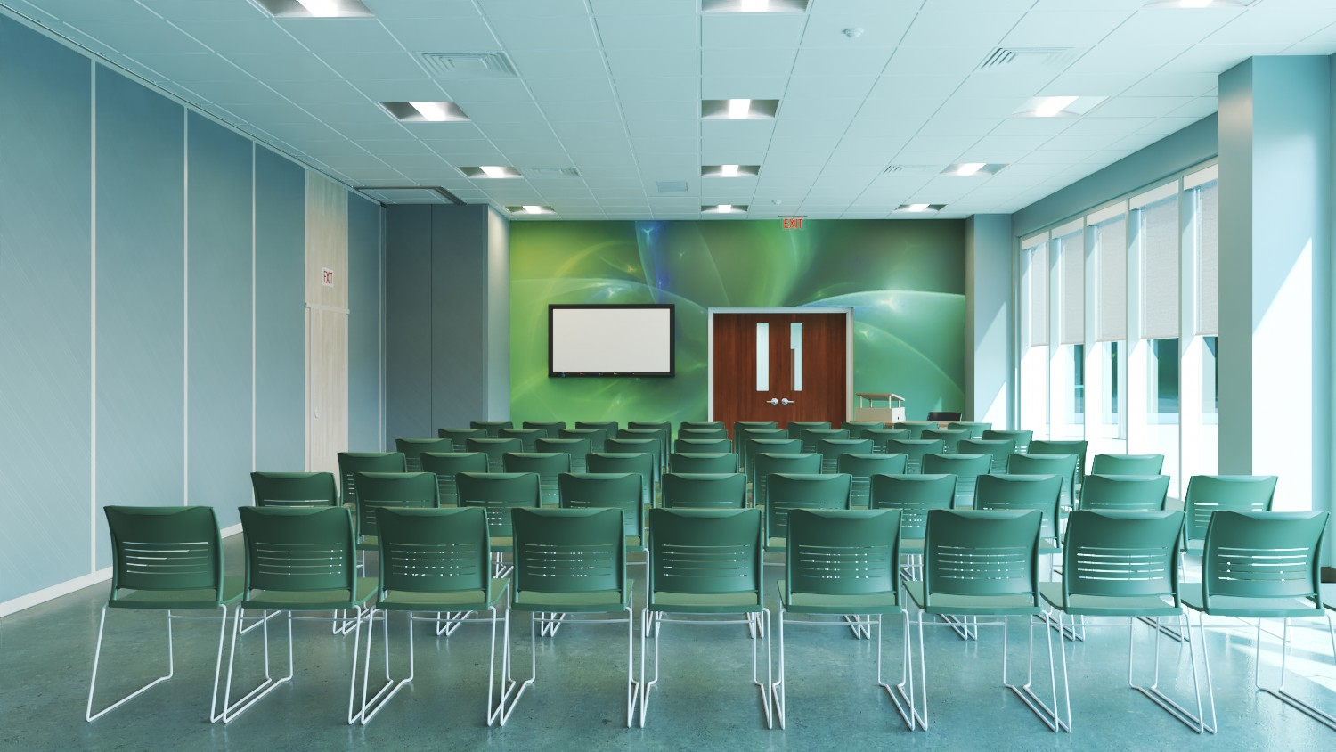Lecture Hall - Advanced Manufacturing Center - Bishop State Community College - Bishop State Foundation - Mobile AL