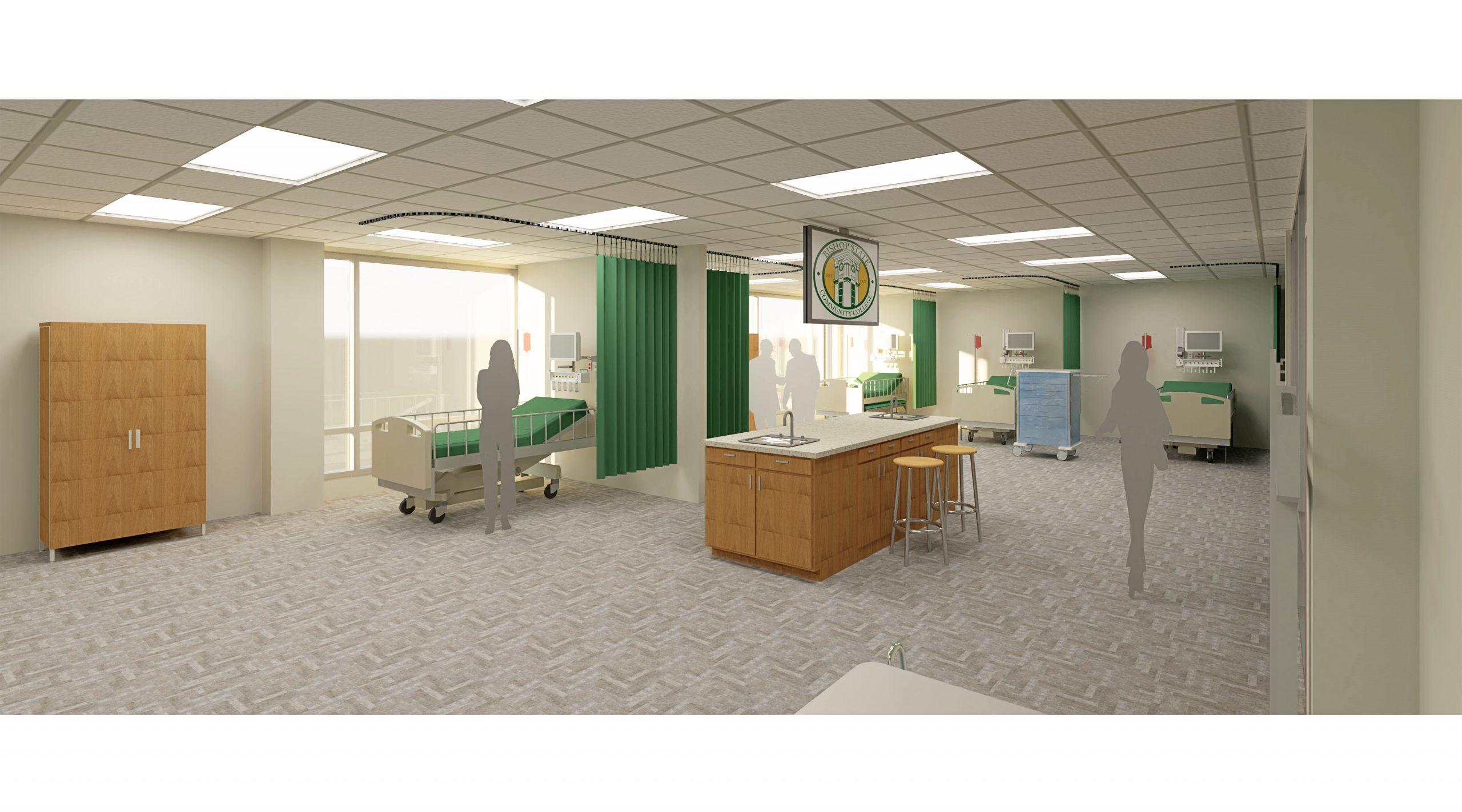 Health Sciences Building Nursing Lab - Bishop State Community College - Bishop State Foundation - Mobile AL