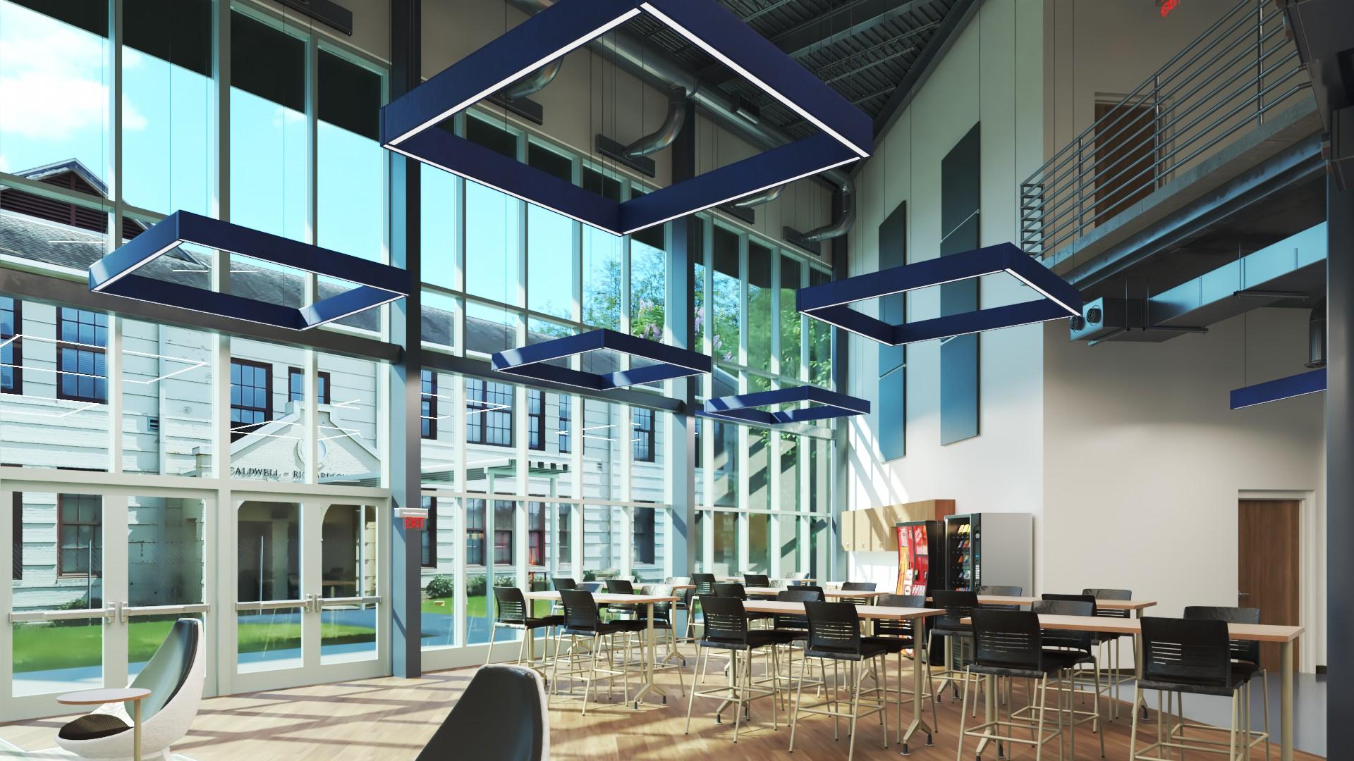Cyber Cafe - Advanced Manufacturing Center- Bishop State Community College - Bishop State Foundation - Mobile AL
