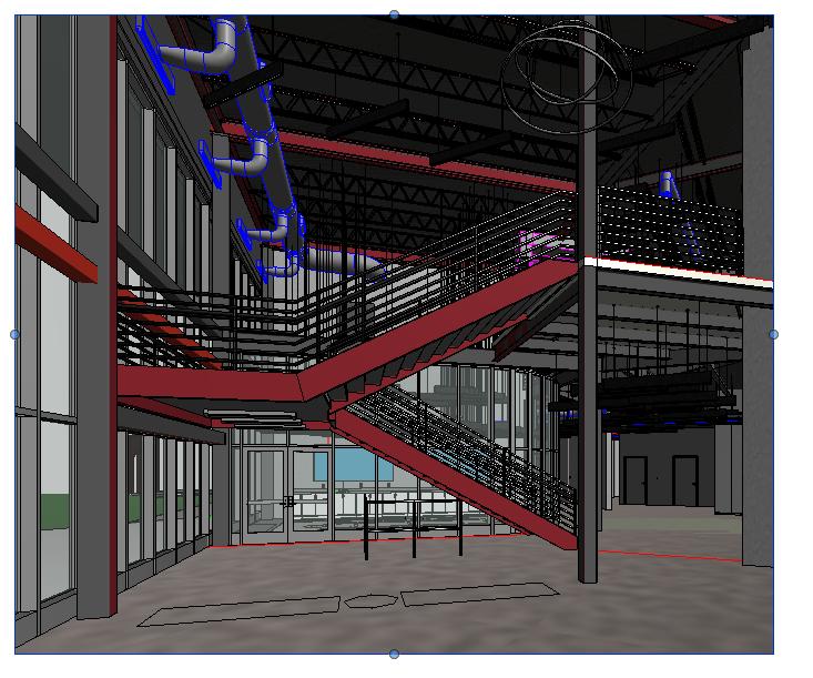 Atrium - Advanced Manufacturing Center - Bishop State Community College - Bishop State Foundation - Mobile AL
