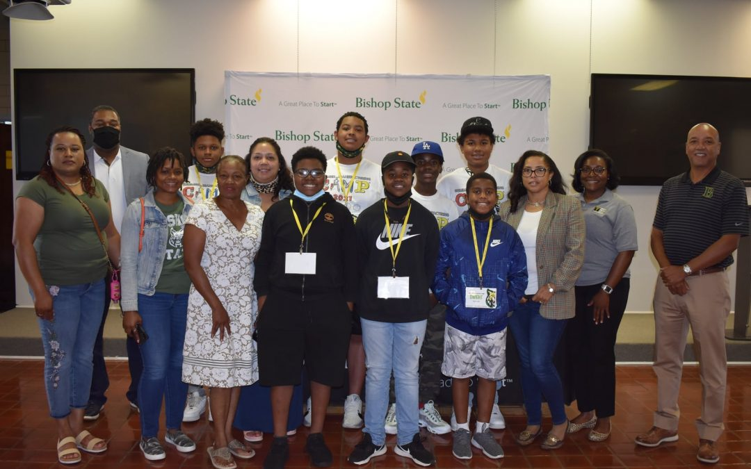 Bishop State Foundation was a Proud Sponsor of the Wildcat Contraption Camp