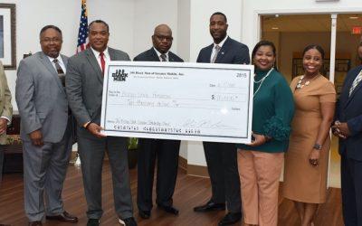 Bishop State Foundation & 100 Black Men establish $15,000 scholarship fund